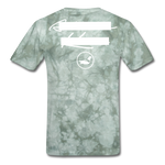 NY Teams T-Shirt - military green tie dye