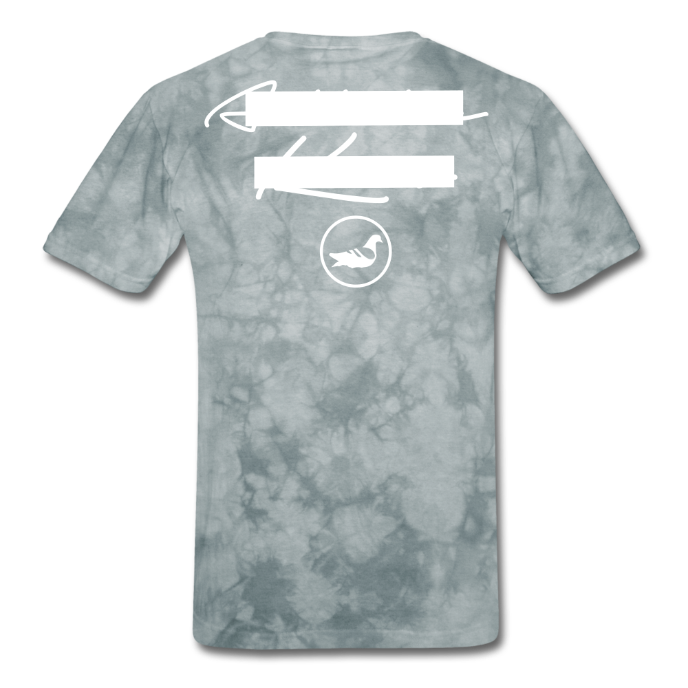 NY Teams T-Shirt - grey tie dye