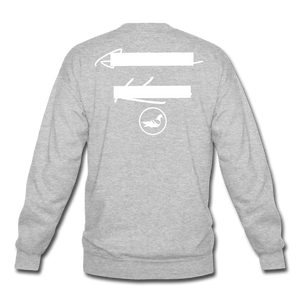 NY Teams Crewneck Sweatshirt - heather gray