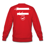 NY Teams Crewneck Sweatshirt - red