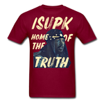 Home of the Truth T-Shirt - burgundy