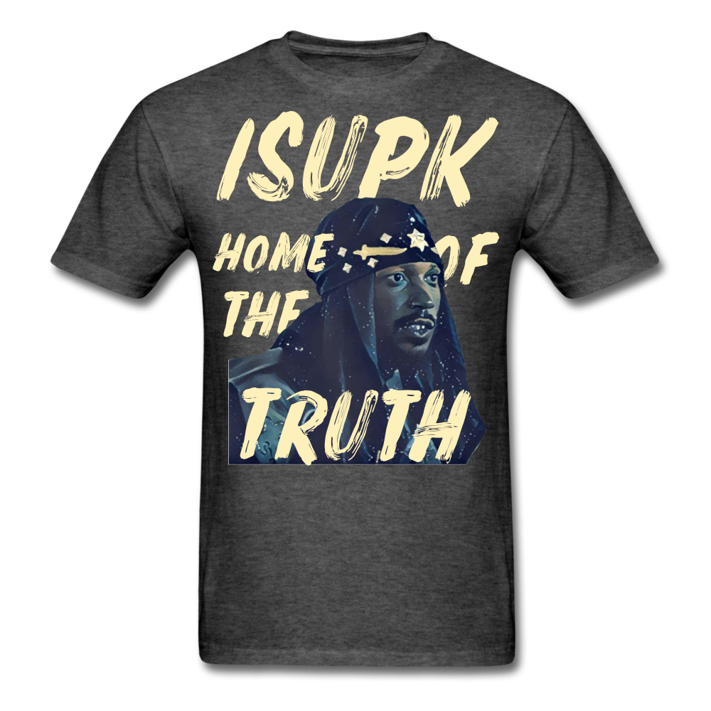 Home of the Truth T-Shirt - heather black