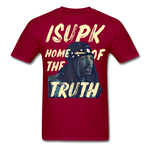 Home of the Truth T-Shirt - dark red