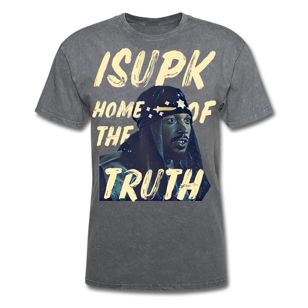 Home of the Truth T-Shirt - mineral charcoal gray