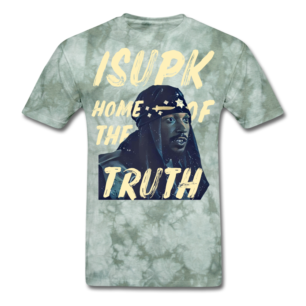 Home of the Truth T-Shirt - military green tie dye
