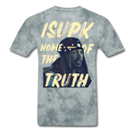Home of the Truth T-Shirt - grey tie dye