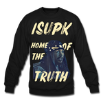 Home of the Truth Crewneck Sweatshirt - black