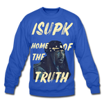Home of the Truth Crewneck Sweatshirt - royal blue