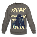 Home of the Truth Crewneck Sweatshirt - asphalt gray