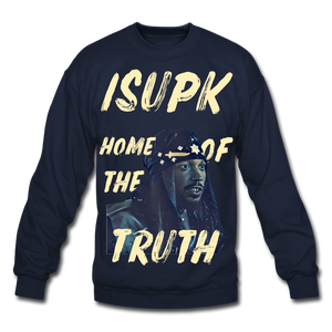 Home of the Truth Crewneck Sweatshirt - navy
