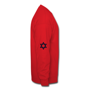 Home of the Truth Crewneck Sweatshirt - red