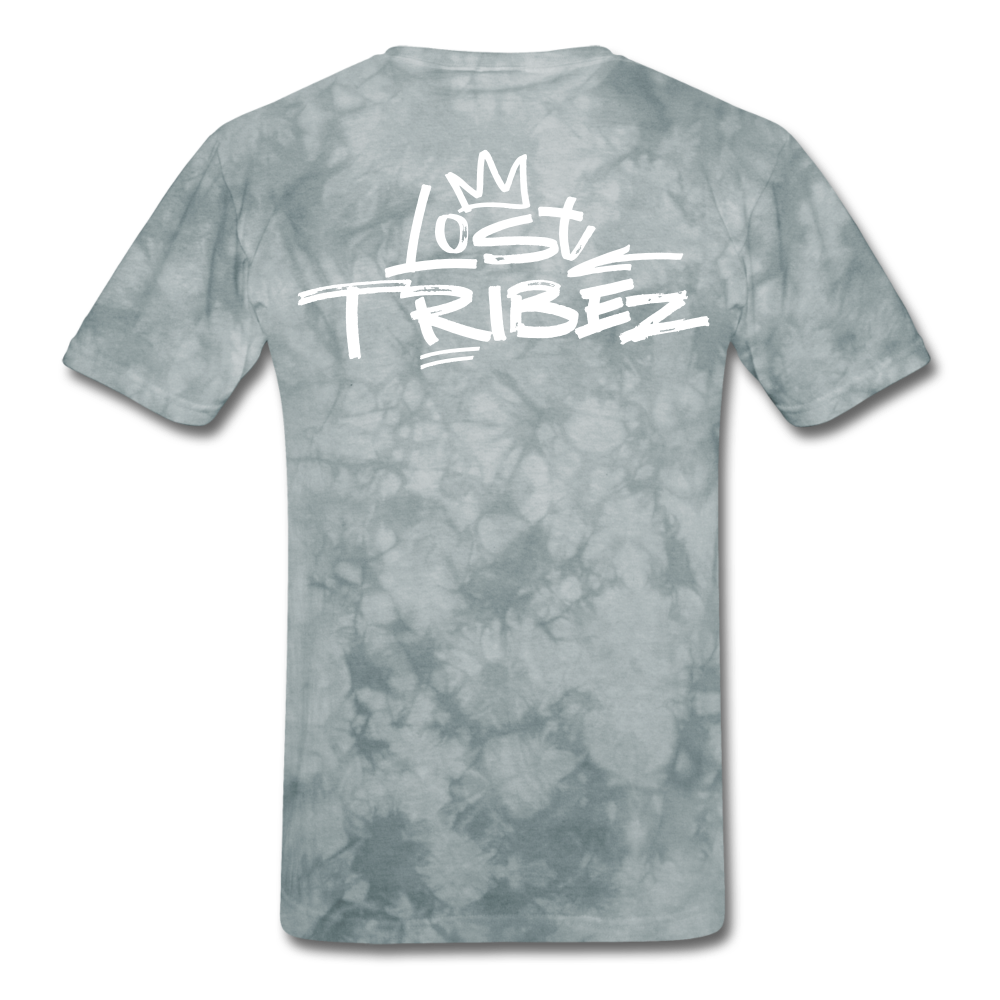 Lost Tribez (Alt) T-Shirt - grey tie dye