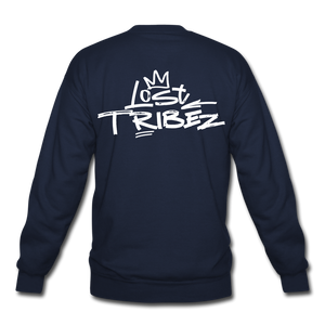 Lost Tribez (Alt) Crewneck Sweatshirt - navy