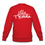 Lost Tribez (Alt) Crewneck Sweatshirt - red