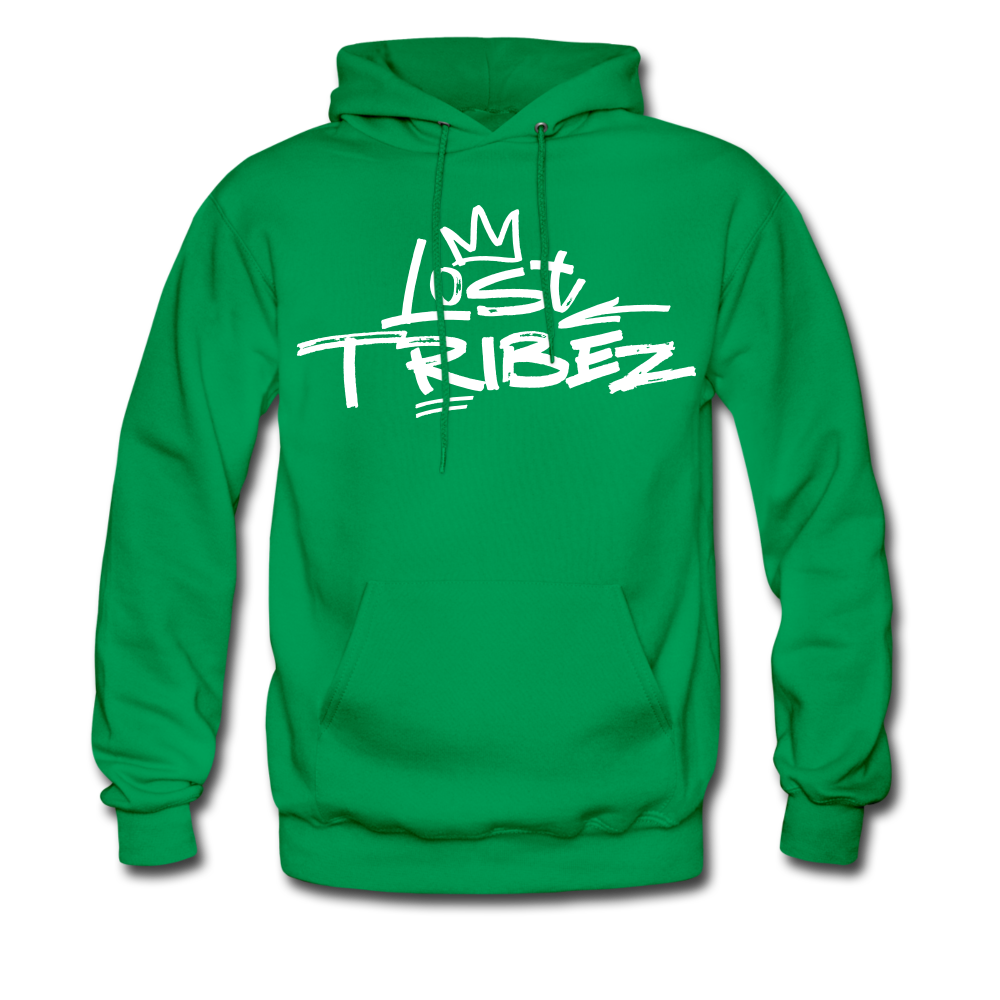 Lost Tribez Hoodie - kelly green