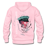 The General Confusion Adult Hoodie - light pink