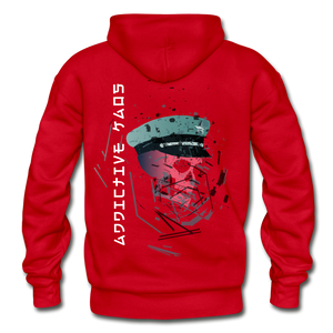 The General Confusion Adult Hoodie - red