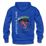 The General Confusion Adult Hoodie - royal blue