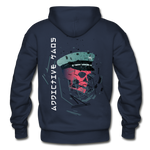 The General Confusion Adult Hoodie - navy