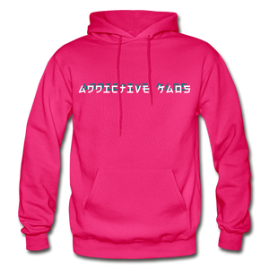 The General Confusion Adult Hoodie - fuchsia