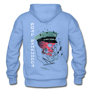 The General Confusion Adult Hoodie - carolina blue