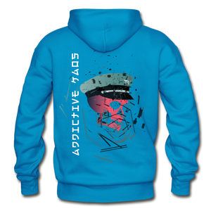 The General Confusion Adult Hoodie - turquoise
