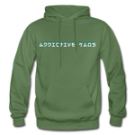 The General Confusion Adult Hoodie - military green