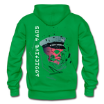 The General Confusion Adult Hoodie - kelly green