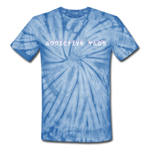 Sucker Tie Dye T-Shirt - spider baby blue