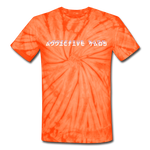 Sucker Tie Dye T-Shirt - spider orange