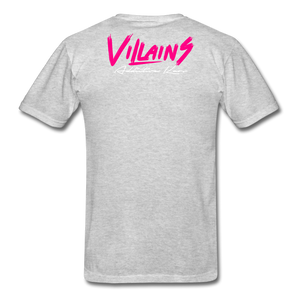 Villains  T-Shirt - heather gray