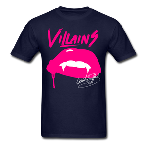 Villains  T-Shirt - navy