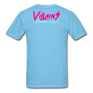 Villains  T-Shirt - aquatic blue