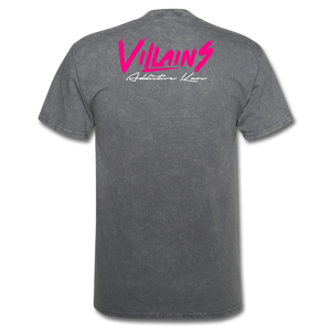 Villains  T-Shirt - mineral charcoal gray