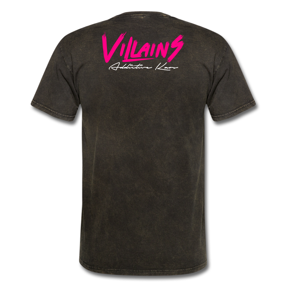 Villains  T-Shirt - mineral black