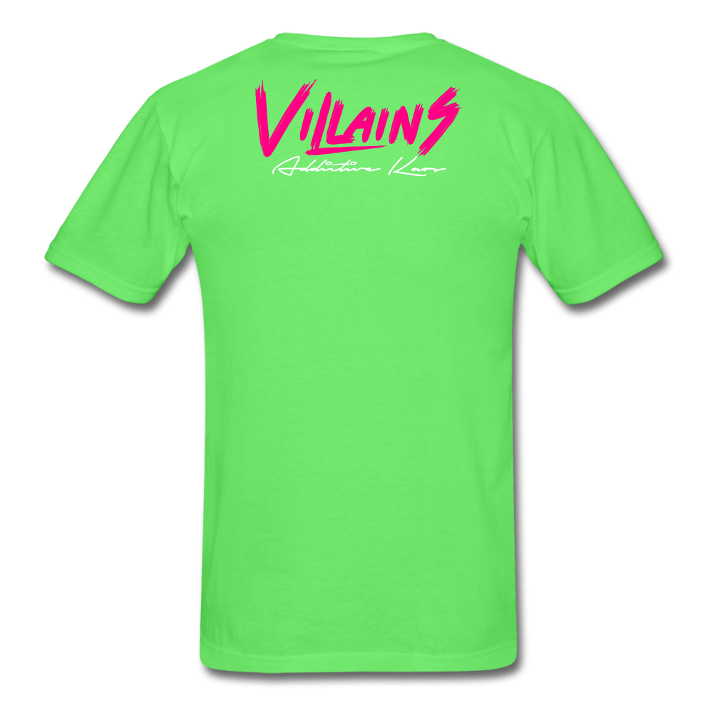 Villains  T-Shirt - kiwi