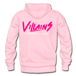 Villains Adult Hoodie - light pink