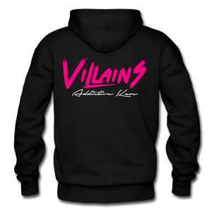 Villains Adult Hoodie - black