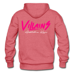 Villains Adult Hoodie - heather red