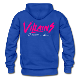Villains Adult Hoodie - royal blue