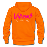 Villains Adult Hoodie - orange