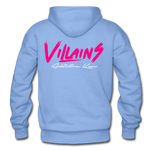 Villains Adult Hoodie - carolina blue