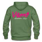 Villains Adult Hoodie - military green