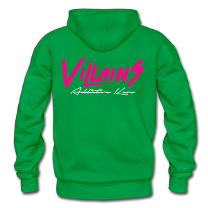 Villains Adult Hoodie - kelly green