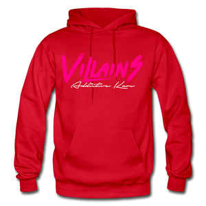 Villains (Alt) Adult Hoodie - red