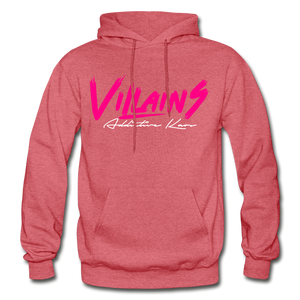 Villains (Alt) Adult Hoodie - heather red