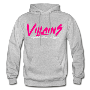 Villains (Alt) Adult Hoodie - heather gray
