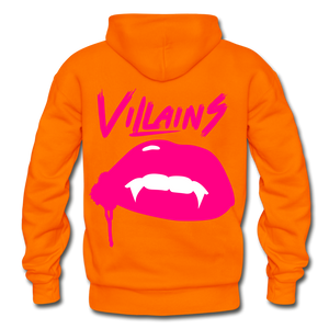 Villains (Alt) Adult Hoodie - orange