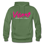 Villains (Alt) Adult Hoodie - military green