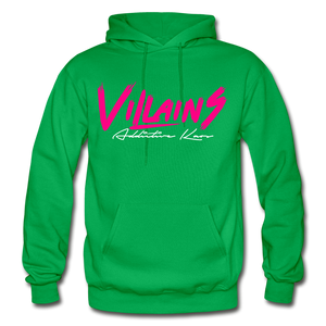 Villains (Alt) Adult Hoodie - kelly green